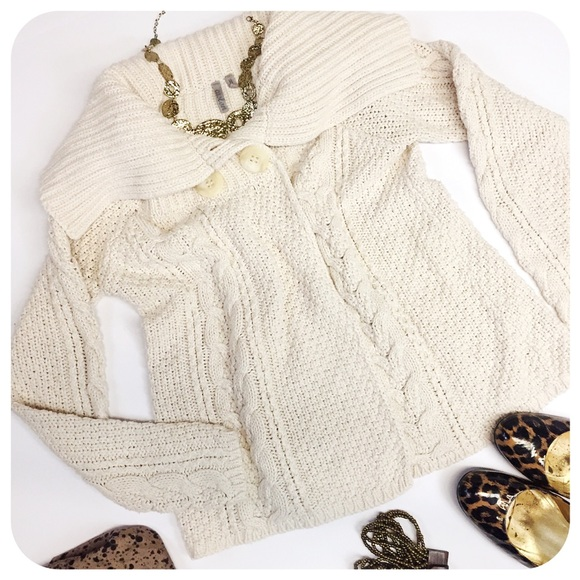 57457234de02 73% off Caslon Sweaters Nordstrom Knit Boxy Shawl Sweater